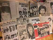Rosetta Stone, Lot of Ten Full Page Vintage Clippings