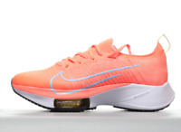 New Nike Women's Air Zoom Tempo Next% FK in Bright Mango Purple Pls Size US 8.5