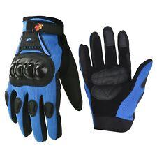 Motorcycle Power sports ATV Motocross Dirt Bike Street Bike Gloves Blue
