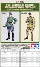 TAMIYA GERMAM GERMAN OFFICER & TANK CREWMAN 1:35 25154
