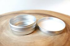 24 COUNT - 1 oz Tins Containers Screw Tops, Candles, Crafts, Beauty, Storage