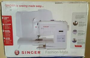 Singer 5500 Fashion Mate Electronic Sewing Machine Heavy Duty NEW OPEN BOX (H01)