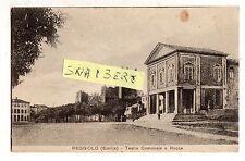C002357  REGGIO   EMILIA    REGGIOLO   TEATRO   E  ROCCA    ANIMATA   VG  1922