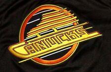 Vtg Maska Vancouver Canada Canucks NHL Hockey Jersey Shirt CCM 90s Sport Mens M