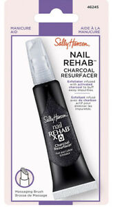 Sally Hansen Cuticle Rehab Charcoal Resurfaced 0.4 FL OZ Exfoliator #46245