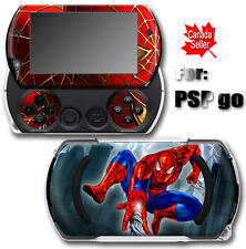 Spiderman Cool SKIN STICKER DECAL COVER for SONY PSP Go