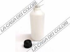 BOTTIGLIA IN PLASTICA PEHD - 1000ml - COLLO 30mm - TAPPO A SIGILLO