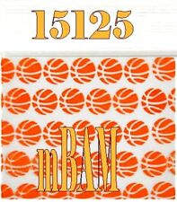 100 PACK 15125 BASKETBALLS SLAM DUNK APPLE ZIPLOCK Baggies 1.5x1.25""