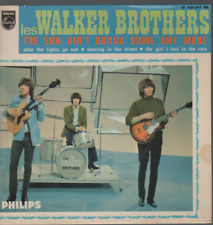 "Walker Brothers The Sun Ain't Gonna Shine Any More 45T 7"" EP 45 Tours france"