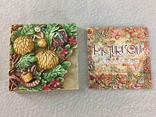Harmony Kingdom Picturesque Tile Mum's Reading Room Pxga2 Byron's Secret Garden