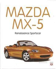 MAZDA MX-5 MX5 MIATA & EUNOS MK1 & MK2 1989-99 DESIGN & DEVELOPMENT HISTORY BOOK