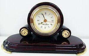 "SETH THOMAS MINI TABLE CLOCK ""THE REGAL"" MODEL NO. 129"