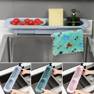 Küche Racks Sink Spül Organizer Lagerung Waschbecken Utensilien Schwammhalter