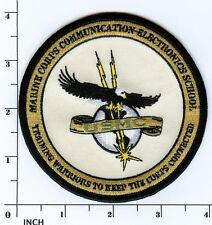 USMC Marines MCCES Communication Electronics School PATCH current style (tan)