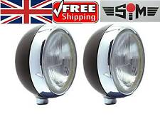 """3 Lamps NEW SIM STAINLESS STEEL  7"""" CIBIE OSCAR H3 SPOT/DRIVING/FOG LAMPS/LIGHTS"""