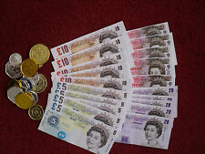 childrens toy money fake pretend coins notes cash role play fun shops free p+p
