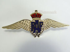 CANADIAN RAF ROYAL AIR FORCE WINGS EMBLEM LOGO PIN BADGE 3.25 INCHES