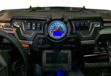 Black Powder Coat Dash Panels RZR Polaris Razor xp1000 xp 1000xp Switch Light