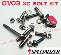 Specialized S-Work 01-02, Rockhopper 03, Stumpjumper 01-03 Bolt Kit - 9893-5115