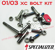 Specialized S-Work 01-02, Rockhopper 03, Stumpjumper 01-03 Bolt Kit - 9893-5115
