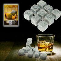 9 PCS Whisky Eis Steine Getränke Kühler Würfel Wein Felsen Granit Whisky Ma K0T1