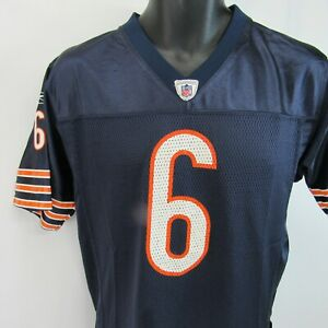 Jay Cutler Chicago Bears Jersey Youth Large YL 14-16 Reebok On Field Mesh Shirt