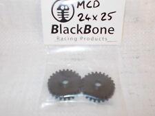 BLACKBONE HARDENED GEAR SET 24/25   FOR MCD, AND CLONES USING 18MM SQ DRIVE