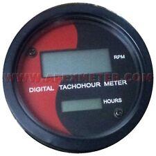 Digital Tachometer RPM Hourmeter Magnetic Pickup Driven  Genset Backhoe