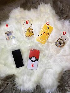 Pokemon Cartoon Collection Case Cover for iPhone 6S 6S Plus Local Stock