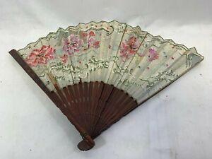 Vintage Hand Held Oriental Foldable Fan