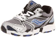 Saucony Cohesion 5 Lace Running Shoe (Little Kid/Big Kid) silver cob Size 9.5  M
