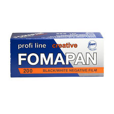 1 Roll x FOMAPAN 200 Profi Line Creative 120 Medium Format B&W Film by FOMA