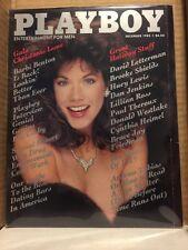 Playboy magazine December 1985 Barbi Benton Carol Ficatier