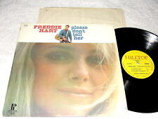 "Freddie Hart ""Please Don't Tell Her"" 1970's Country LP, VG+, on Hilltop"