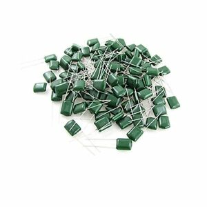 Polyester Film Capacitor x 10Pcs 100V Rate Values From 220pf to 220nf Free Post