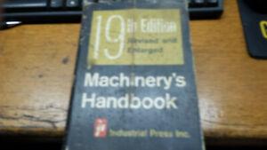Machinery's Handbook Edition 19