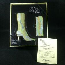 Just the Right Shoe, Perfectly Python, item #26410, #422 of 17500