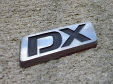 OEM Factory Genuine Stock Honda Civic DX emblem badge decal logo symbol script