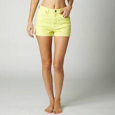 Fox Racing Women's Braking Bumps Short In Yellow Fade Size 7