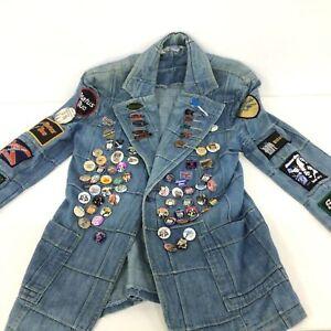 Collectable Status Quo Denim Jacket Pins & Badges #805
