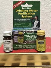 2 In 1 PACK OF WATER PURIFICATION TABLETS-DRINKABLE WATER IN 30 MINUTES 100 TABS