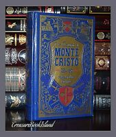 New Count of Monte Cristo Alexandre Dumas Sealed Leather Collectible Hardcover