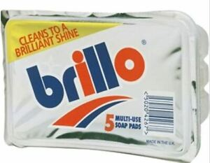 Brillo Multi Use Soap Steel Wool Pads - 5,10,15, 20,25,30 Pack