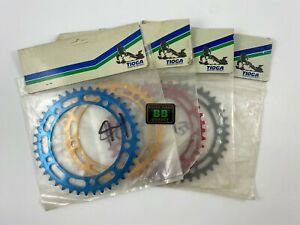 TIOGA NOS Chainring Red Gold Blue 39 40 41 43 44 45 Old School BMX 130BCD TAKAGI