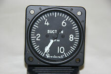 NEW BEECH 0-10 IN. SUCTION GAGE---P/N 91-380020-1