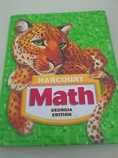 Math 5 Student Textbook 5th Grade (2005,Hardcover,Harcourt School Publishers) G2