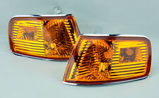 Front JDM Amber Euro Corner Lights Pair RH LH for Honda CRX 1990-1991