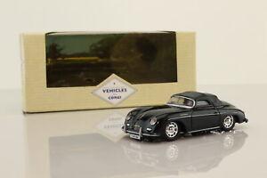 Corgi 98122; Porsche 356a Speedster; Soft Top; Black; Excellent Boxed