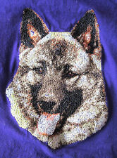 Embroidered Sweatshirt - Norwegian Elkhound Dle2493 Sizes S - Xxl