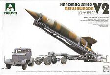 TAKOM WWII German V-2 Rocket w/ Hanomag SS 100 Meillerwagon in 1/72 5001  ST